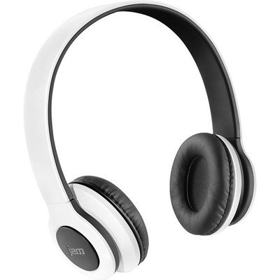 Jam - Transit Bluetooth Wireless Stereo On-Ear Headphones - White