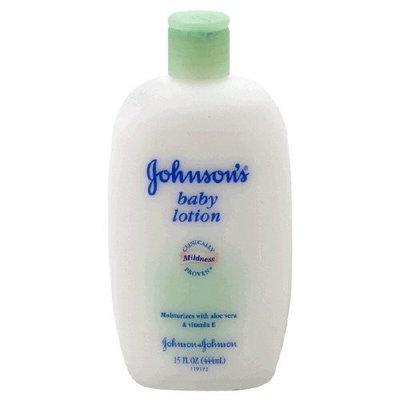 Johnson's® Baby Moisturizer Lotion with Aloe Vera and Vitamin E