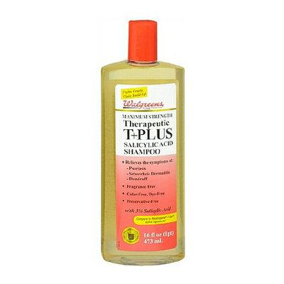 Walgreens Therapeutic T+Plus Salicylic Acid Shampoo