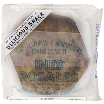 Ines Rosales Sesame and Sea Salt Savory Olive Oil Tortas, 6.34 Ounce