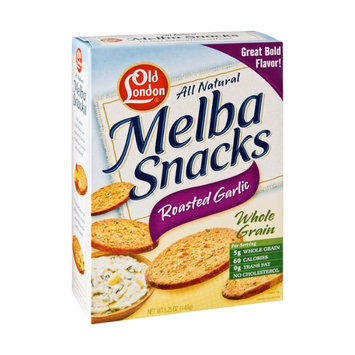 Old London All Natural Roasted Garlic Melba Snacks