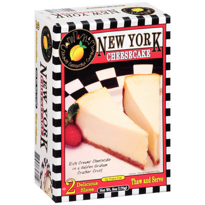 Atlanta Cheesecake Company New York Cheesecake, 2 count