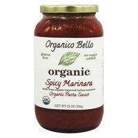 Organico Bello Organic Pasta Sauce Spicy Marinara 25 oz