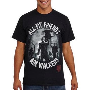 LICENSE Walking Dead All My Friends Men's Graphic Tee