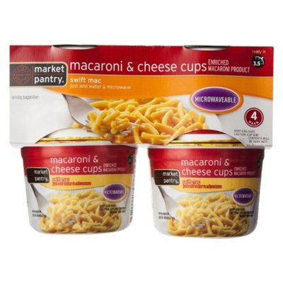 market pantry Market Pantry 4-pk. Macaroni and Cheese Cups 2.05-oz.