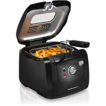 Hamilton Beach HAMILTON BEACH Black HB Cool Touch Fryer - 8 Cup