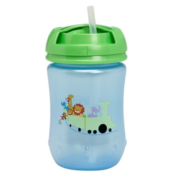 Dr. Brown's Straw Cup, 9 oz, Blue, 1 ea
