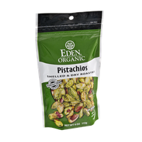 Eden Organic Shelled & Dry Roasted Pistachios