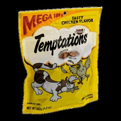 Whiskas Temptations Tasty Chicken Flavor Cat Treats
