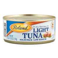 Roland Low Sodium Light Tuna, 6.13-Ounce Cans (Pack of 48)