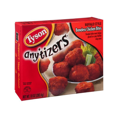 Tyson Any'tizers Chicken Bites Boneless Buffalo Style