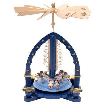 Alexander Taron Tabletop Candle Pyramid Indoor Christmas Decoration 1605