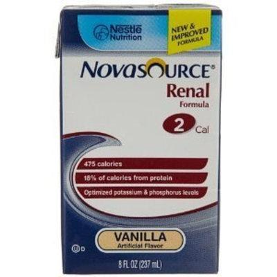 Nestlé Nutrition Novasource Renal Vanilla 27 X 237ml (1 case)