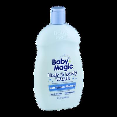 Baby Magic Hair & Body Wash Soft Cotton Blooms