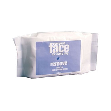 EO Everyone Face Remove Alcohol Free Makeup Removing Towelettes, 30 ea