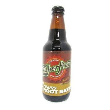 Real Soda Zuberfizz Creamy Root Beer Soda (Pack of 12)