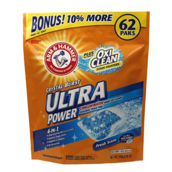 ARM & HAMMER™  Ultra Power OxiClean Paks Fresh Scent