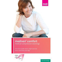 Mediven Comfort Thigh High with Lace Silicone Top Band (20-30 mmHg)