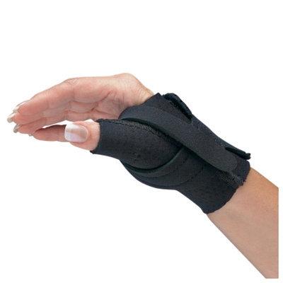 Comfort Cool Thumb CMC Restriction Splint Black