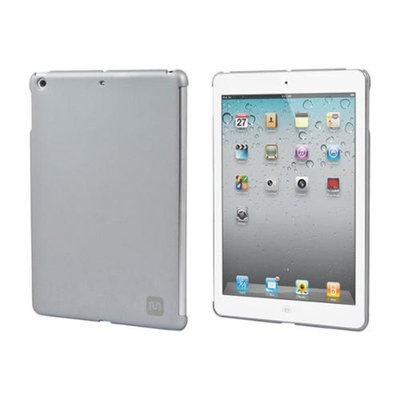 Monoprice PC Soft Touch Cover for iPad Air - Silver