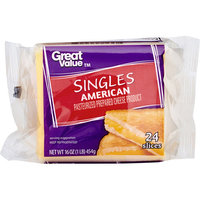 Great Value American Cheese Product, 16 oz