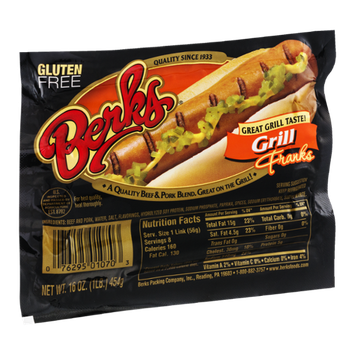 Berks Grill Franks - 8 CT