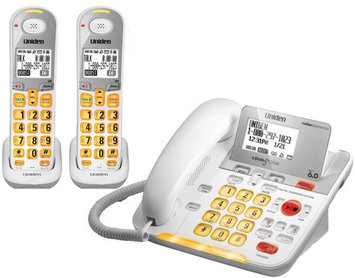 Uniden D3098-2 DECT 6.0 Amplified Corded/Cordless Phone w/ 1 Extra Han