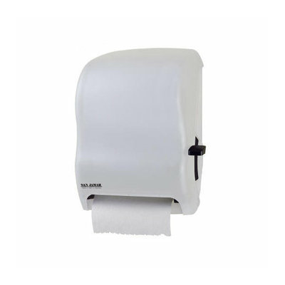 San Jamar Lever Roll Towel Dispenser without Transfer Mechanism in White