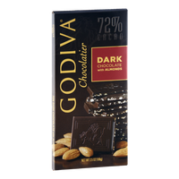 Godiva Chocolatier Dark Chocolate with Almonds
