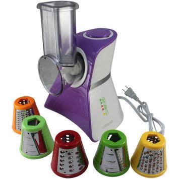 Cooks Club USA Cooks Club VC02SPU Salad Maker Mini Food Processor and Produce Shooter, Purple