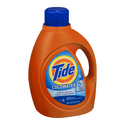 Tide Detergent for Cold Water Fresh Scent HE