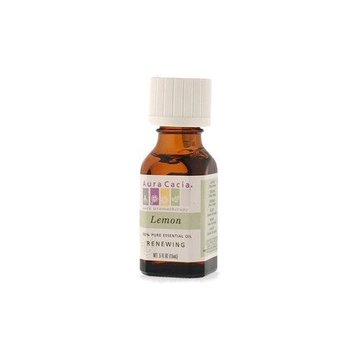 Essential Oil Lemon (citrus limonum) .5 fl oz from Aura Cacia