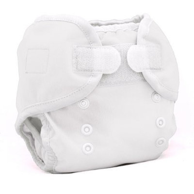 Thirsties Duo Wrap, White, Size One (6-18 lbs) (Discontinued by Manufacturer)