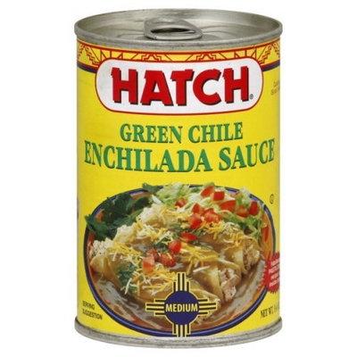 Hatch Green Chili Enchilada Sauce Medium, 15 -Oz. (Pack of 6)