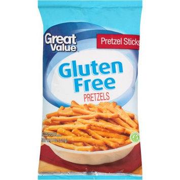 Wal-mart Stores, Inc. Great Value Gluten Free Pretzel Sticks, 8 oz