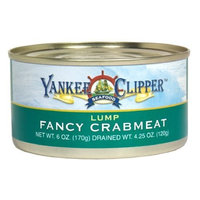Yankee Clipper Crabmeat, Whole Lump, 6-Ounce (Pack of 4)