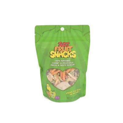 Just Tomatoes, Etc Just Tomatoes Just Fruit Snacks, 4 Ounce Pouch (Pack of 4)