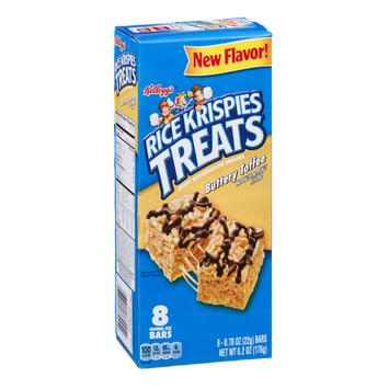 Kellogg's® Rice Krispies Treats Buttery Toffee