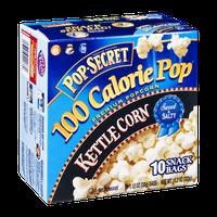 Pop-Secret 100 Calorie Pop Kettle Corn Sweet & Salty Microwave Popcorn - 10 CT