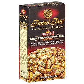 Pretzel Pete Gourmet Sour Cream & Habanero Pretzel Nuggets