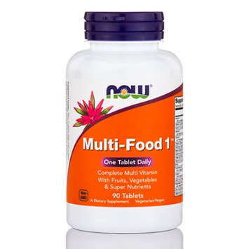Multi-Food 1 Multivitamin Now Foods 90 Tabs