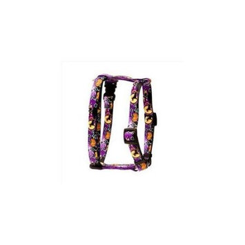 Yellow Dog Design H-SCN101SM Scary Night Roman H Harness - Small/Medium