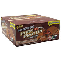 Worldwide Sport Nutrition Pure Protein High Protein Bar, Chewy Chocolate Chip, 2.75-Ounce Bar, 12-Count