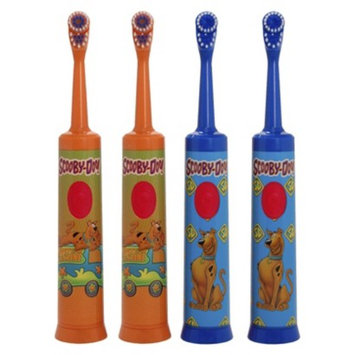 Brushpoint Scooby Doo Battery Powered Toothbrush (Pack of 4)