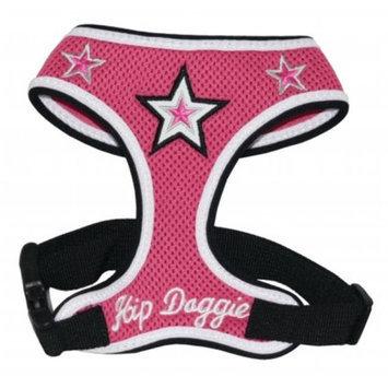 Hip Doggie Pink Super Star Mesh Harness Vest, Size: XXXL