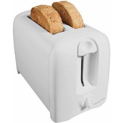 Hamilton Beach 2-Slice Cool-Wall Toaster, White