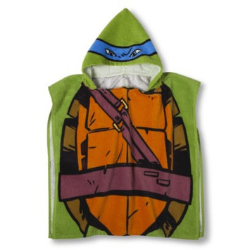 Jay Franco Teenage Mutant Ninja Turtles Hooded Towel - Leonardo