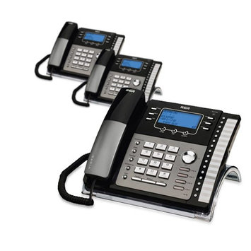 Ge/rca RCA ViSYS 25423RE1 (3-Pack) 4-Line Corded Phone