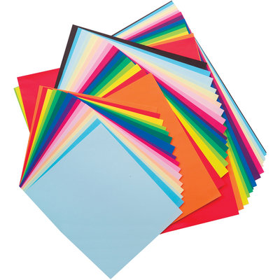 Alex Toys Origami Paper 60/Pkg Assorted Sizes & Colors