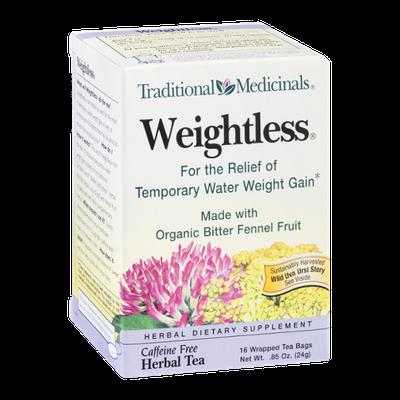 Traditional Medicinals Herbal Tea Weightless Tea Bags - 16 CT